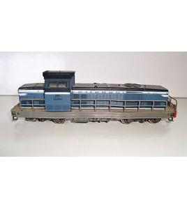LOCOMOTIVE DIESEL BB66150  BLEU JOUEF 8531 MADE IN FRANCE SNCF (17x4cm)