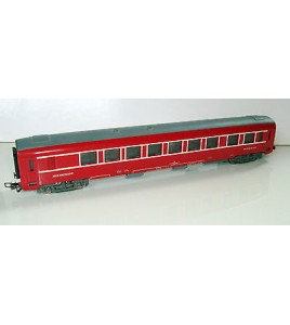 VOITURE VOYAGEURS TRAIN RESTAURANT ROUGE JOUEF REF 8690 MADE IN FRANCE SNCF 28cm
