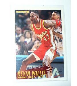 CARTE  NBA BASKET BALL 1995  PLAYER CARDS KEVIN WILLIS (126)