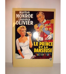 CARTE POSTALE CINEMA - LE PRINCE ET LA DANSEUSE MARILYN MONROE LAURENCE OLIVIER