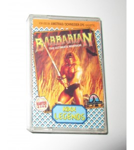 Barbarian The Ultimate Warrior sur Amstrad