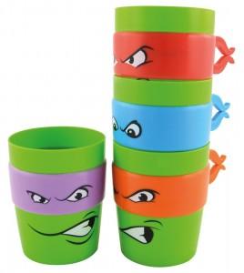 Les Tortues Ninja 4 gobelets empilables