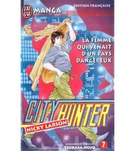 City Hunter Tome 07 La Femme Qui Venait D'un Pays Dangereux