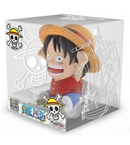 One Piece tirelire PVC Luffy 10 cm