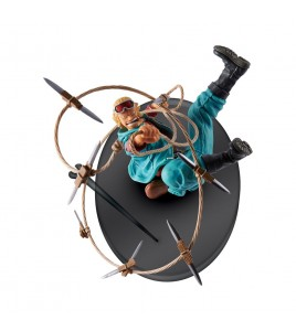 One Piece figurine Scultures Big Zoukeio 4 Ruffy 15 cm