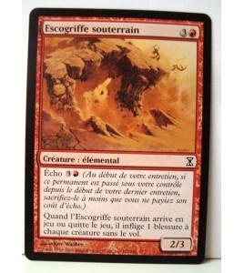 Carte magic the gathering mtg - escogriffe souterrain - spirale temporelle