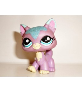 Hasbro Littlest PetShop PET SHOP CHAT AVEC PAILLETTES