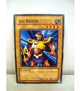 carte yu-gi-oh - axe raider- commune - 5ds1-fr003