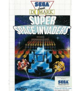 Super Space Invaders sur Master System