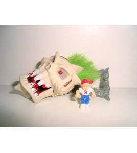 Mighty Max - Skull Crusher  Hairy Heads - Bluebird Toys 1994