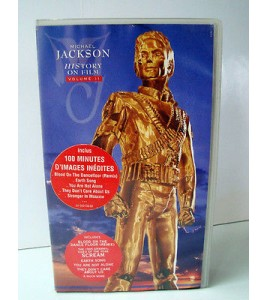 Michael Jackson History on Film VHS Mucia Vol II 1997 cassette video