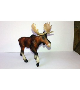 figurine élan  animaux sauvages Bullyland