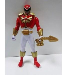 Power Rangers Megaforce rouge RANGER avec carte (Super Megaforce poitrine Pop ou