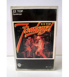 k7 audio cassette tape - zz top fandango