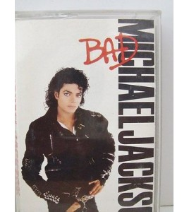 RARE MICHAEL JACKSON K7 AUDIO TAPE CASSETTE. BAD 1987