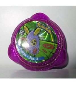 pogs pokemon - krak 50 dustox - evo.3 (4x4cm)